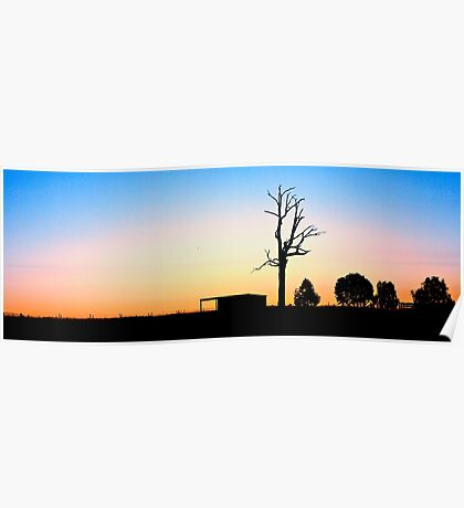 Inland NSW Outback Poster