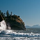 Cape Disappointment Lighthouse - Washington Coast by Mark Heller