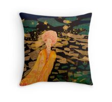 Cloaked Passage Throw Pillow