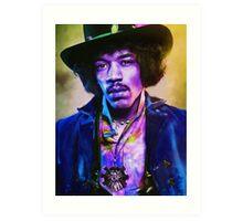 Jimmy Hendrix Art Print