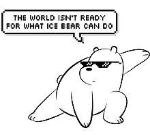 Ice Bear - We Bare Bears Photographic Print