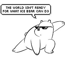 Ice Bear - We Bare Bears Photographic Print