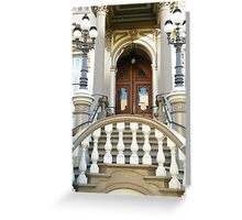 A Door into California History Greeting Card