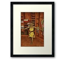 A Monster is in My Closet Framed Print