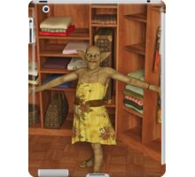 A Monster is in My Closet iPad Case/Skin