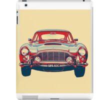 Classic Aston Martin Print iPad Case/Skin