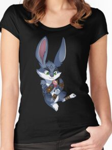 RoTG - Bunnymund Women's Fitted Scoop T-Shirt