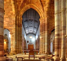 Silves Cathedral Interior by manateevoyager