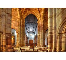 Silves Cathedral Interior Photographic Print