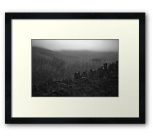 Layers of Time Framed Print