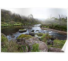 Thredbo River Poster