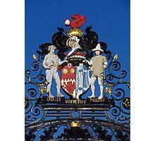 Colchester Castle Gates Photographic Print