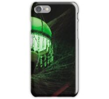 Eerie Lamp in the Rafters 2 iPhone Case/Skin