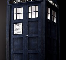 Tardis 3D view by DnaPna