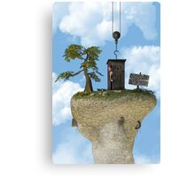 Outhouse - Out of Order Canvas Print