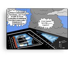 Wing Commander Newman Metal Print