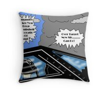 Wing Commander Newman Throw Pillow