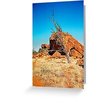 Lifeless Outback Greeting Card