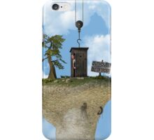 Outhouse - Out of Order iPhone Case/Skin