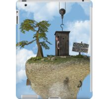 Outhouse - Out of Order iPad Case/Skin
