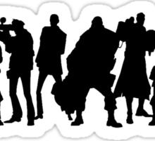 Tf2 Sillhouetes  Sticker