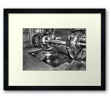 Steampump equipment Framed Print
