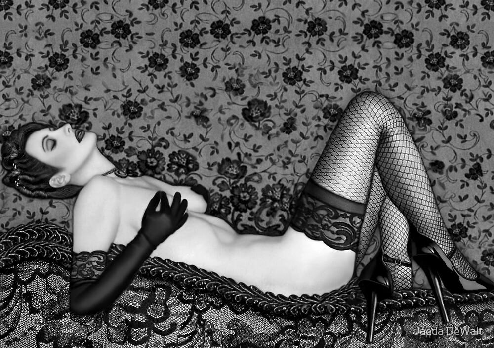 Ravishing Romance - Self Portrait by Jaeda DeWalt