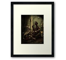 Brain Eaters Framed Print