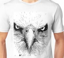 12 American Bald Eagle By Chris McCabe - DRAGAN GRAFIX Unisex T-Shirt