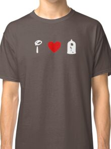 I Heart Beauty and The Beast (Classic Logo) (Inverted) Classic T-Shirt