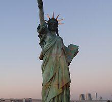 Statue of Liberty,tokyo by sivagurun