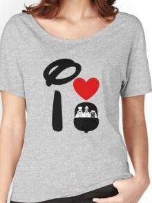 I Heart Haunted Mansion Women's Relaxed Fit T-Shirt