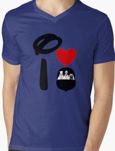 I Heart Haunted Mansion Mens V-Neck T-Shirt