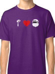 I Heart Haunted Mansion (Classic Logo) (Inverted) Classic T-Shirt