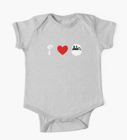 I Heart Haunted Mansion (Classic Logo) (Inverted) One Piece - Short Sleeve