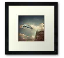 Dream sequence Framed Print