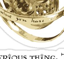 Time-Turner - Dumbledore Quote Sticker