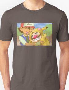 Ash and WarioChu T-Shirt