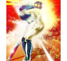 Sword Robot Photographic Print
