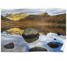 Blea Tarn,Jewel Of The Lakes Poster