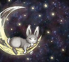 Sleepy Bunny by Steinbit