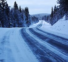 Winter Road by Lina Ottosson