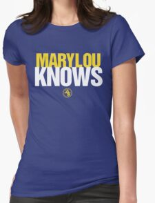 Discreetly Greek - Mary Lou Knows - Nike parody T-Shirt