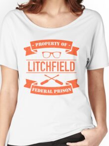 ORANGE IS THE NEW BLACK - LITCHFIELD PRISON Women's Relaxed Fit T-Shirt