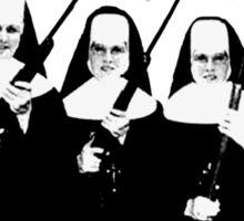 Nuns with Guns Sticker
