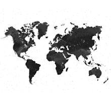 Mapped Photographic Print