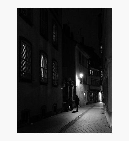 Night talks Photographic Print