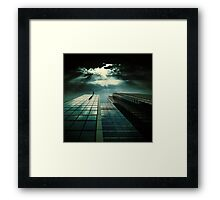 Black Sypmphony Framed Print