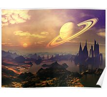 Ringed World Poster