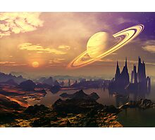Ringed World Photographic Print